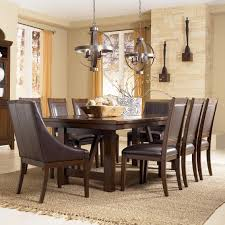 Living Room Table And Chairs Holloway 9 Piece Extension Table Set By Ashley Millennium New