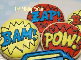 superhero sheet cake cake the flying cookie