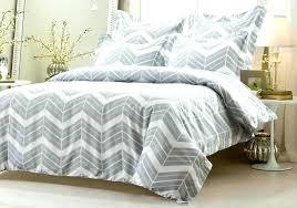 gray chevron bedding set king comforter sets wonderful grey and within