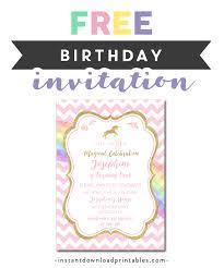 Free Printable Editable Pdf Birthday Party Invitation Diy