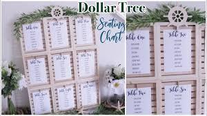 Diy Wedding Seating Chart Dollar Tree Wedding Seating Chart Diy Farmhouse Coastal Wedding Decor