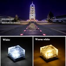 in ground lighting. In Ground Lighting. Frosted Glass Brick Garden Lights \\u2013 Waterproof Solar Lighting D