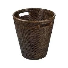wicker waste basket wicker waste basket waste bin teak wicker waste basket tall wicker trash can costco