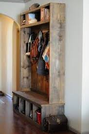 Entryway Coat Rack And Bench Make your own custom length rustic coat rack DIY Pinterest 56