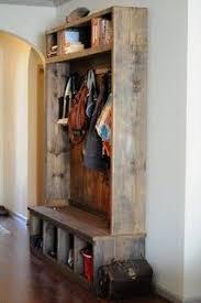 Rustic Entryway Coat Rack Make your own custom length rustic coat rack DIY Pinterest 6