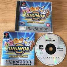 sony playstation 1. digimon world ps1 game complete pal sony playstation 1 platinum rpg bandai playstation