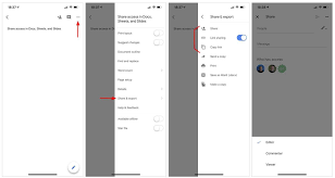 share google docs sheets and slides