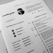Template For Curriculum Vitae Interesting Curriculum Vitae Template Available For Download On Behance