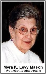 "Myra Katherine ""Baba"" Levy Mason (1931-2013) - Find A Grave Memorial"
