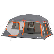 Ozark Trail 10-Person Instant Lighted Cabin Tent - Walmart.com