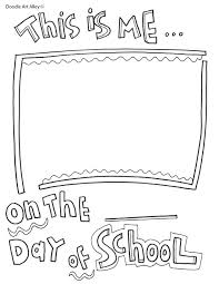coloring: Back 2 School Coloring Page First Day Of Sheet Printable ...