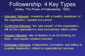 the art science of leadership and followership in preventing  15 followership