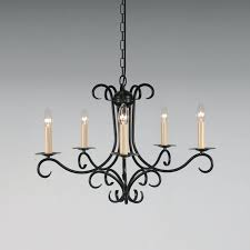 chandeliers real candle chandelier wrought iron ideas the 5 arm bespoke lighting co regarding chandeliers