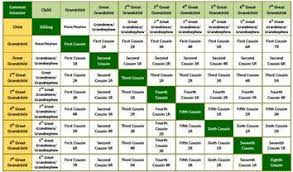 Relationship Map Template This Family History Chart Explains 2nd Cousins 1st Cousins Once