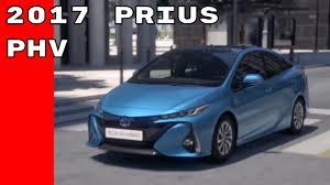 2017 Toyota Prius PHV - YouTube