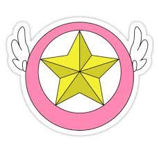 '<b>Cardcaptor Sakura Star Wand</b>' Sticker by scarlethue in 2021 ...