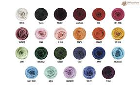 Updated Rose Colour Meaning Chart Little Flower Hut