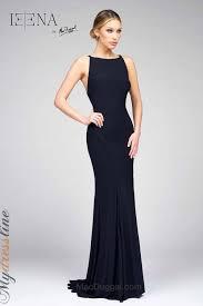 Buy mac duggal women's blue long sleeve jersey trumpet gown. Mac Duggal 25220i Dress Mydressline Com