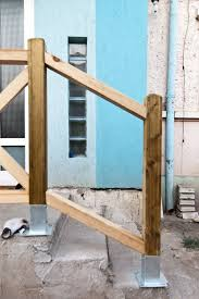 metal handrails for deck stairs. building deck stair railing metal handrails for stairs d