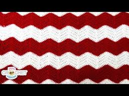 Youtube Crochet Patterns Amazing Crochet Chevron Ripple Zig Zag Wave Blanket Pattern YouTube