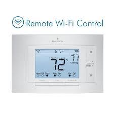 emerson sensi wi fi programmable thermostat for smart home emerson sensi wi fi programmable thermostat for smart home compatible amazon echo