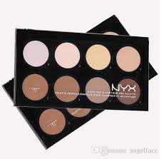 nyx highlight contour cream makeup face contour kit highlight concealer palette bronzer with blender beauty cosmetic set cheek highlighter cosmetics