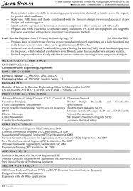 Resume Template Example Of Engineering Resume Diacoblog Com