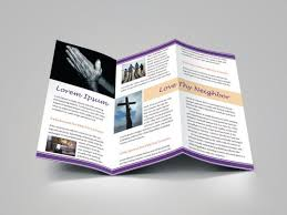 Download Design Template For Church Bulletin Religious