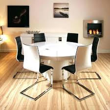 marvelous 6 chair round dining table set collection in round white gloss dining table kitchen table