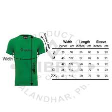 Cricket Jersey Size Chart Digital Sublimation Printing Cricket Jersey Vibro Sports