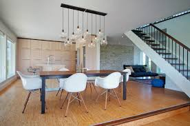 dining room table lighting. reginaandrewlightingdiningroomcontemporarywithblackdiningtable bluepoufclusterpendant1 dining room table lighting