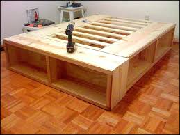 king storage bed plans. Storage Bed Plans For King Size Frame Awesome And Farmhouse With