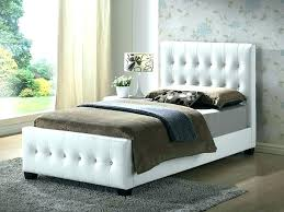 Remarkable King Tufted Bed Frame Size With Upholstered Headboard ...