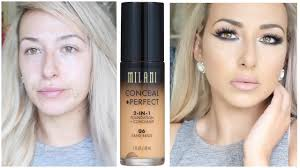 first impression review milani conceal perfect 2 in 1 foundation you