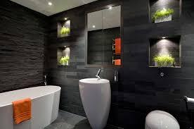 black bathroom. Perfect Black With Black Bathroom M