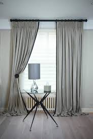 Kildare Linen Curtains with King Pleat and Jumbo Piping | 20 ...