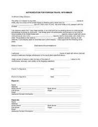 sample consent letter for children travelling abroad with one parent consent letter for children travelling abroad