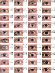 Blue In Green Chart Forty Shades Of Blue In 2019 Eye Color Chart Eye Color