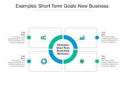 exles short term goals new business