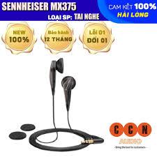 Chính hãng] Tai nghe Sennheiser MX375, tai nghe có dây âm thanh cực đỉnh  giá cạnh tranh