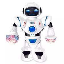 FRSDG Vui Vẻ Robot Đèn Điện Phổ Thông Nhảy Múa Cho Trẻ Em Mô Hình Âm Nhạc  Đồ Chơi Giáo Dục Đồ Chơi Cutebaby Trò Chơi Ghép Hình Thông Minh Vui Nhộn