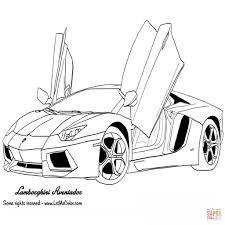 Kleurplaat Lamborghini Nieuw Kleurplaat Lamborghini Fris Race Car