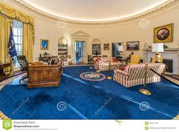 little rock arusa circa february 2016 replica of white houses oval bill clinton oval office
