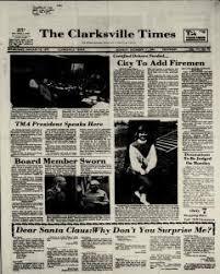 Clarksville Times Newspaper Archives, Dec 17, 1984, p. 1