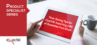 Bill of quantities excel template. Time Saving Tips For Costx Importing A Bill Of Quantities From Excel Itwo Costx