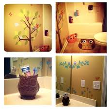 kids owl bathroom owl bathrooms owl bathroom for the girls from target kids tree wall decals