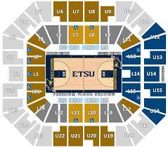 Freedom Hill Seating Chart With Seat Numbers Ticket Information Official Site Of East Tennessee State