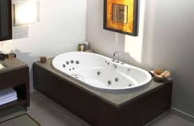 home design modern built in tub with bathtubs idea outstanding jetted alcove bathtub small