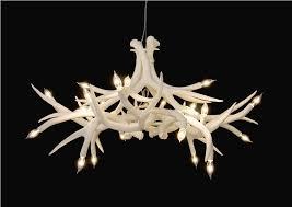 deer antler chandelier kits unusual lighting with a deer antler chandelier light