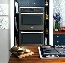 26 inch wall oven built in double electric microwave combo